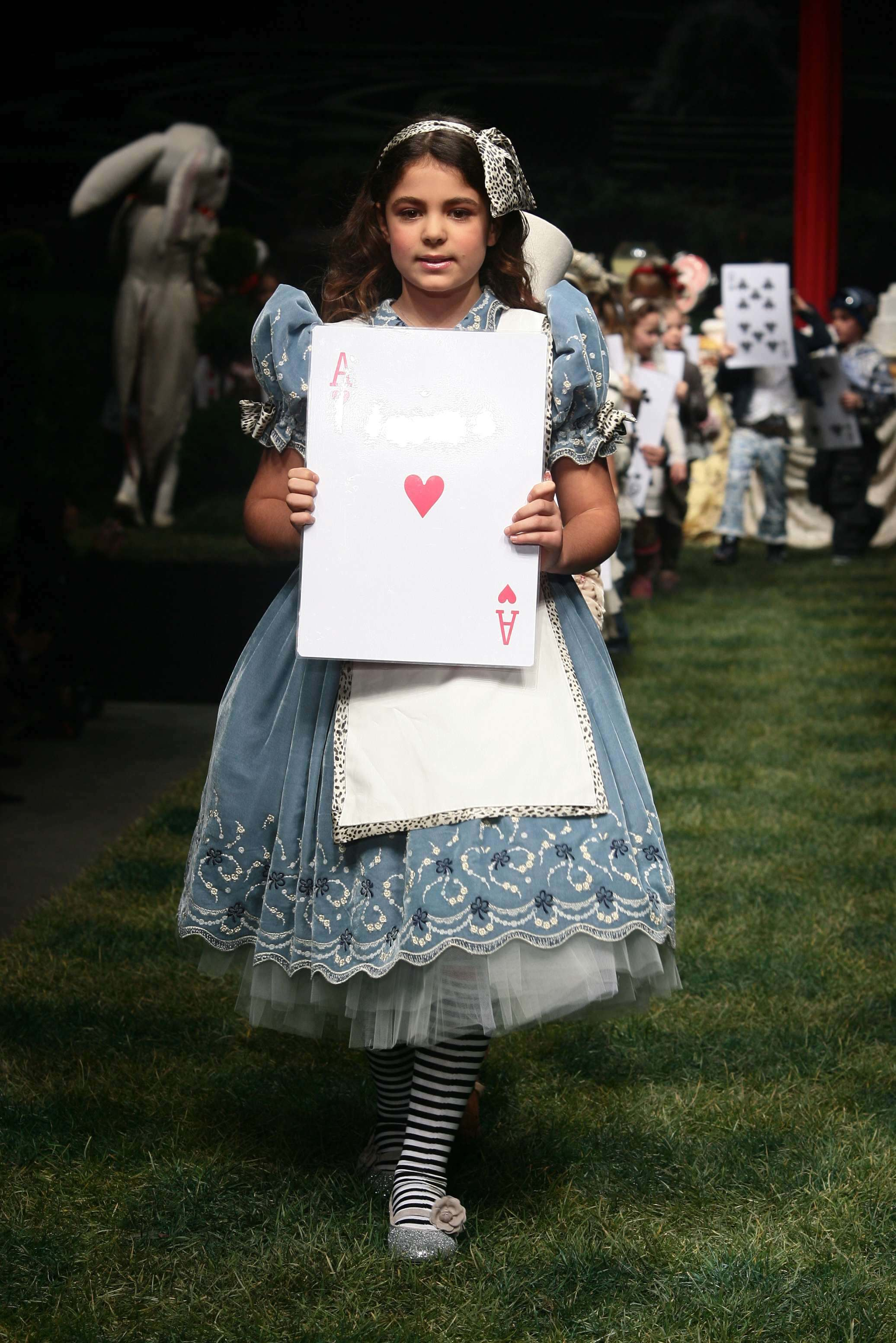 Roberto Cavalli Angels Alice in Wonderland look from 2006 800df58bf