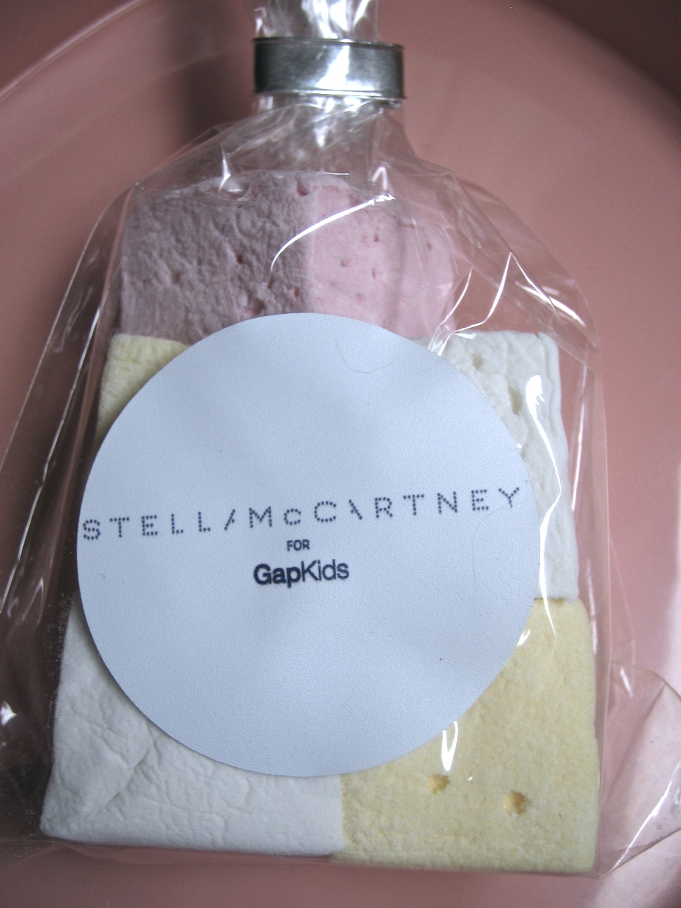 Marshmallows to go at GapKids for Stella McCartney instore launch spring 2010