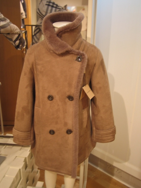 Childrenswear by Burberry for autumn 2010