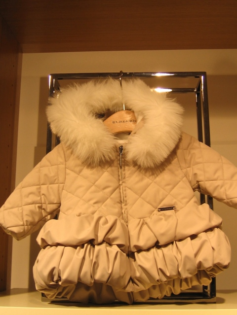 Children's fashion from Burberry for autumn 2010 baby coat