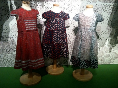 Children's fashion at Pitti Bimbo 71 by Issa for summer 2011