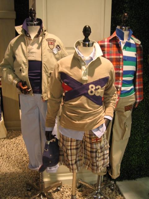 Kidswear by British label Hackett for spring 2011