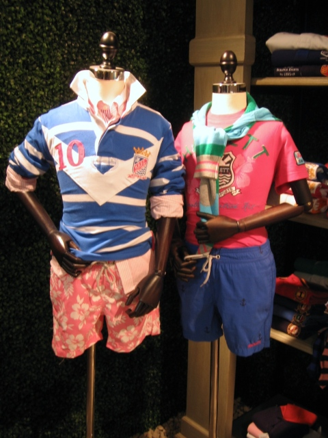 Kidswear from British label Hackett for summer 2011
