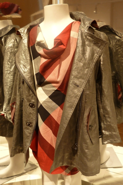 Kidswear by Burberry for summer 2011