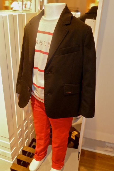 Super skinny jeans for children from Burberry for summer 2011