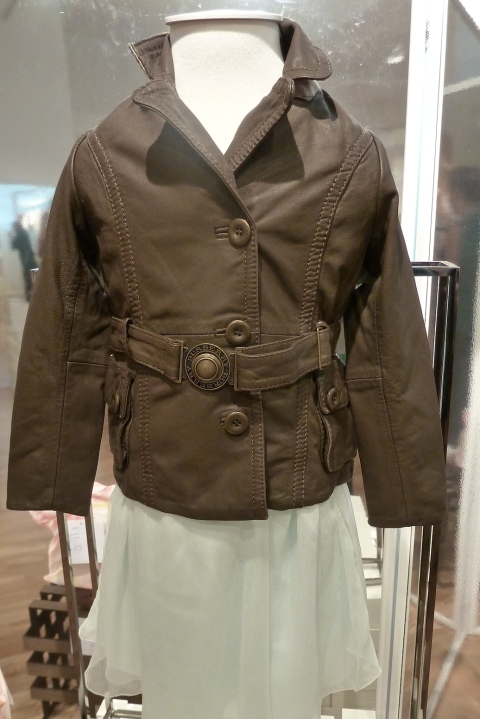 Children's fashion by Burberry for spring 2011