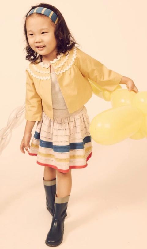 Kicokids lemon jacket with Brittany inspiration for Kids fashion summer 2011