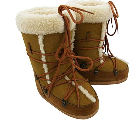 D&G suede thonged snow boots
