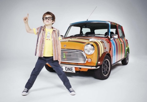 Paul Smith children's fashion for summer 2011, stripes for the boy's