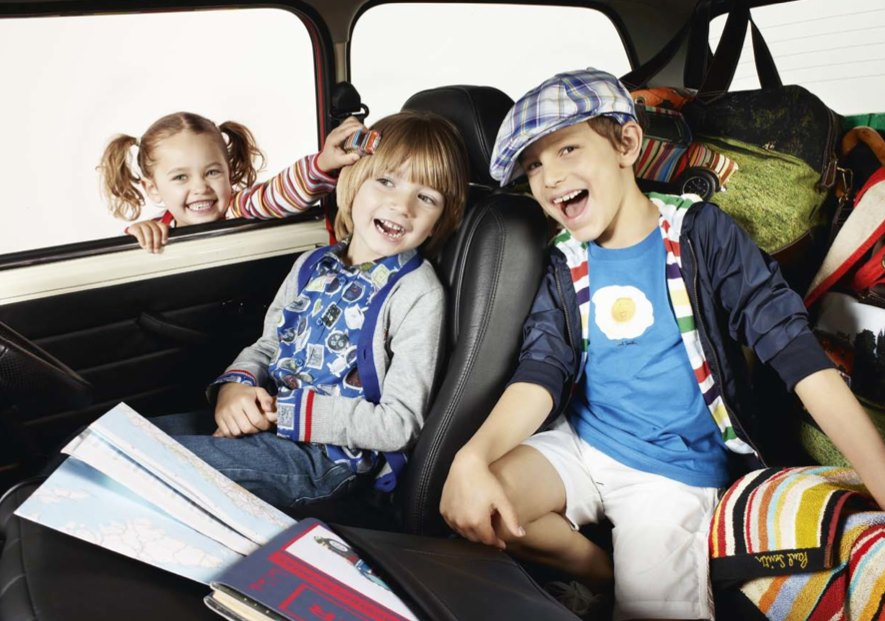 Boys can mix and match patterns, kids fashion by Paul Smith for summer 2011