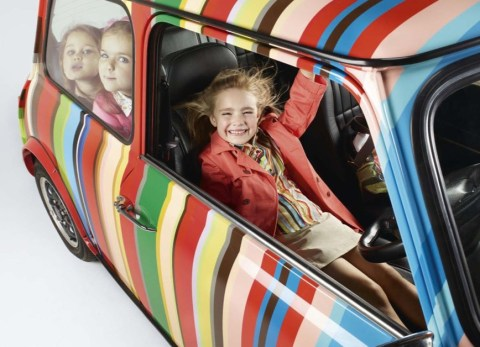 Bright primaries for children's fashion from Paul Smith kids collection summer 2011