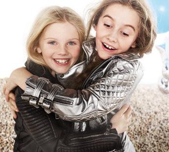 Burberry girls fabulous biker jackets for spring 2011