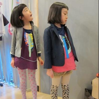 Frankie Grow so cute little dresses for childrenswear 2011