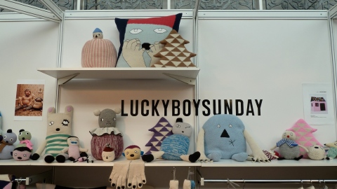 Great selection of toys and knit pieces from everybodies fav brand Lucky Boy Sunday