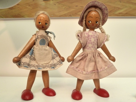 Sadly not for sale but how cute are these display dolls?