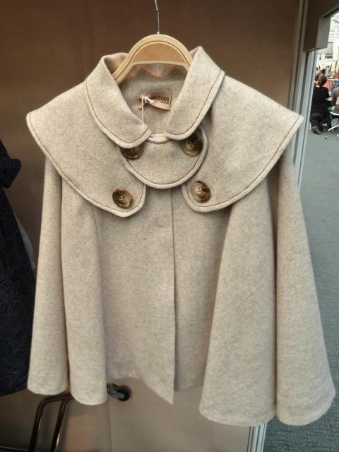 Caped wool jacket from Hucklebones for children's fashion winter 2011 at Bubble London