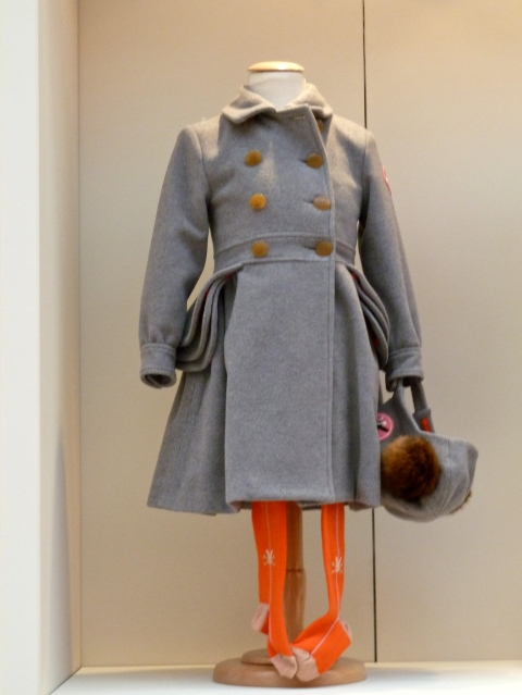 Unusual pocket details from No Added Sugar children's coat for winter 2011
