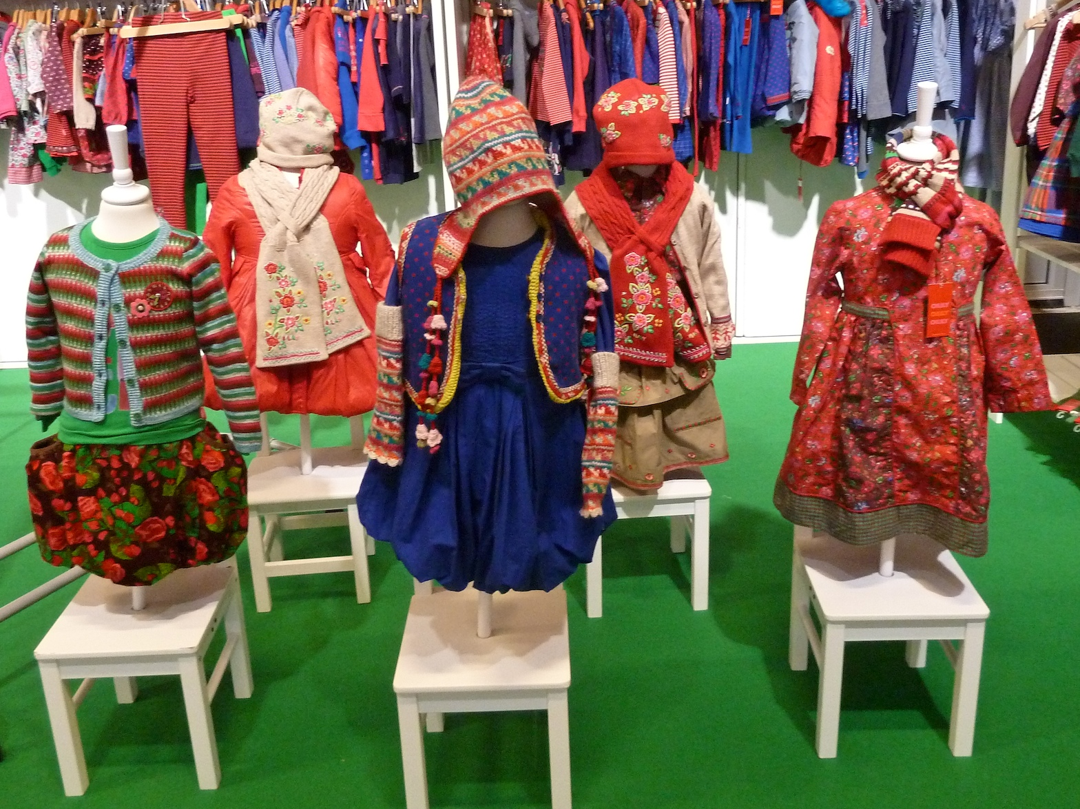 Oilily children's fashion is super bright for winter 2011