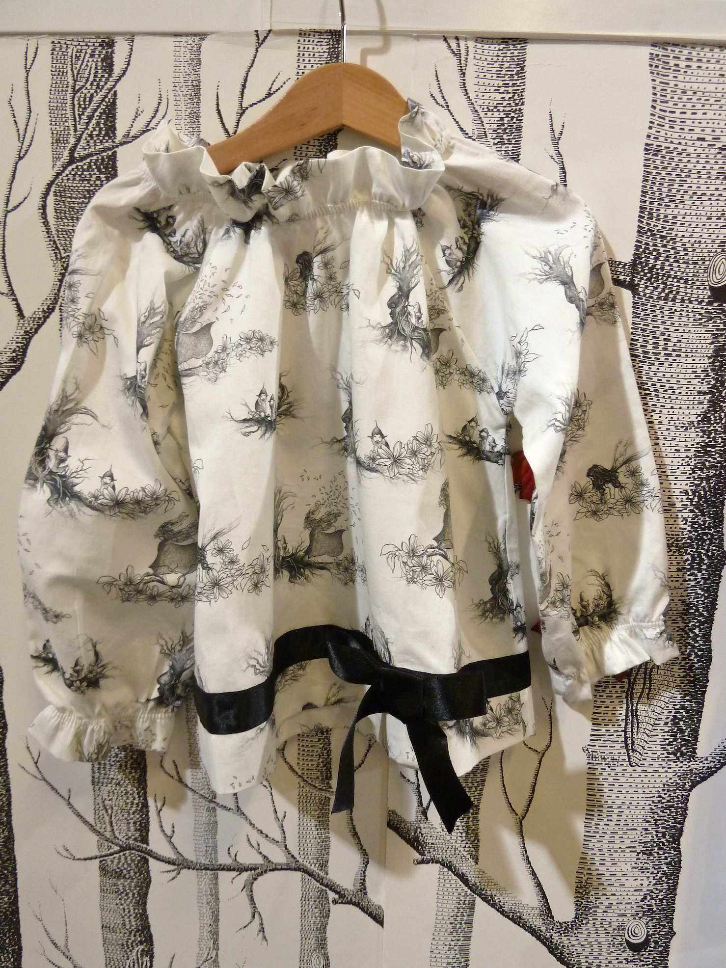 New childrenswear exhibitor P'tit chic...de Paris with sweet print blouse