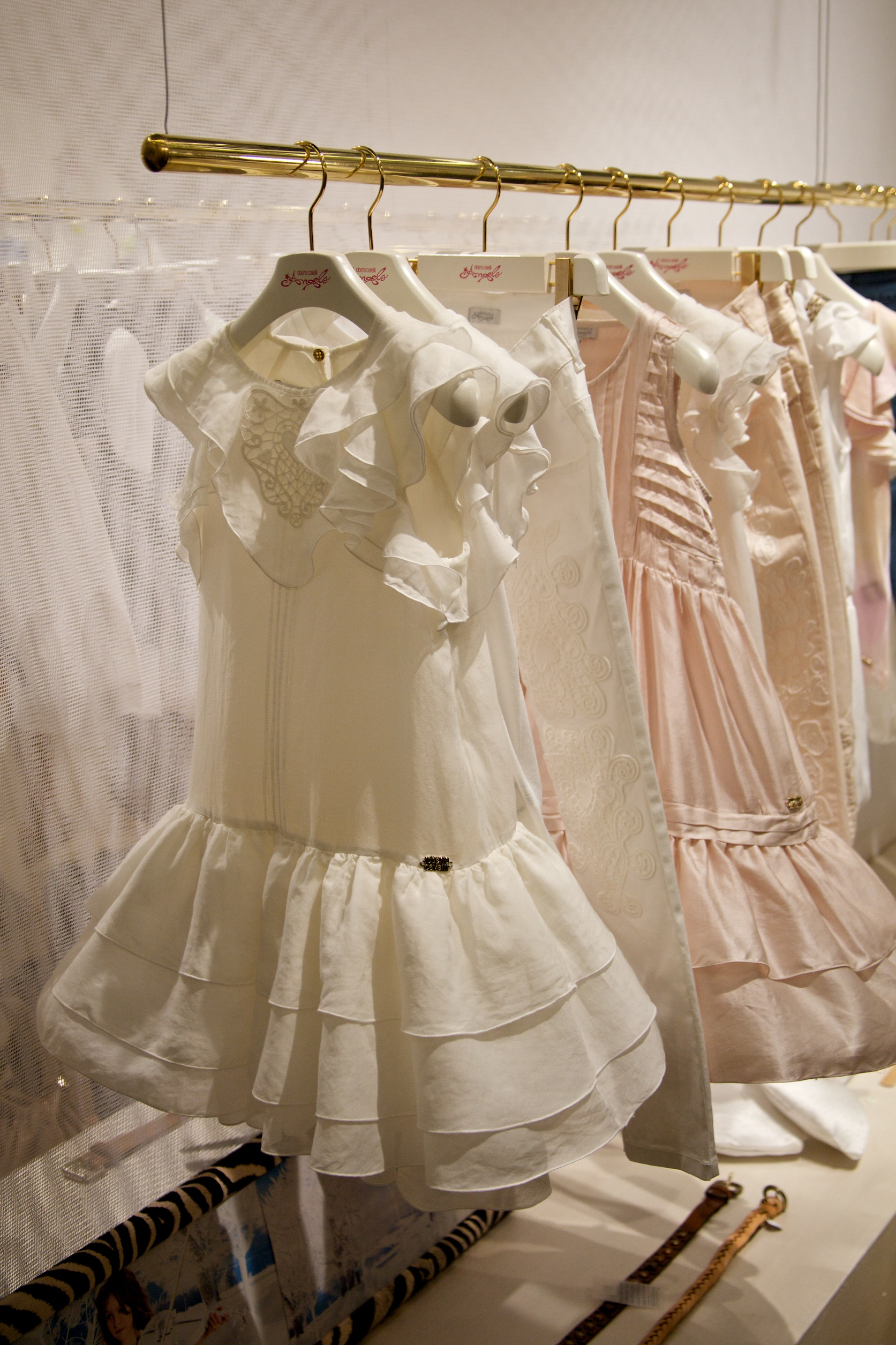 Pastel sweet dresses from Roberto Cavalli Angels for summer 2011 kids  fashion 358e73a9f
