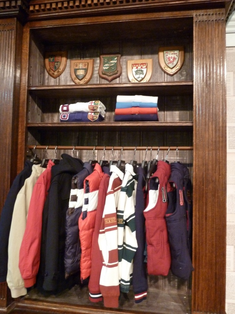 Classic rugby shirts and winter warmer jerkins at Hackett boyswear for winter 2011