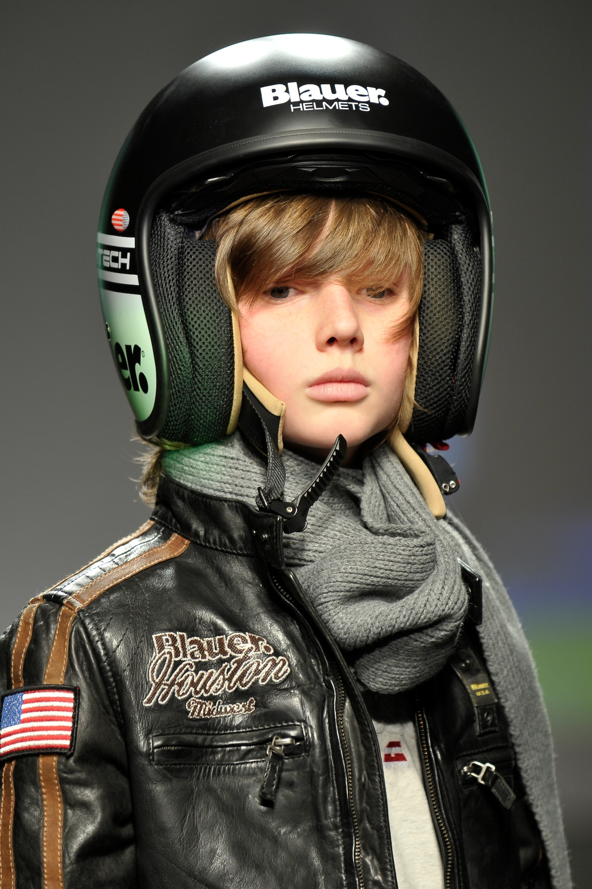 Motorbike helmets at Blauer Junior for boys winter 2011