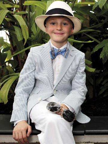 Hackett boyswear summer 2011 Page boy style