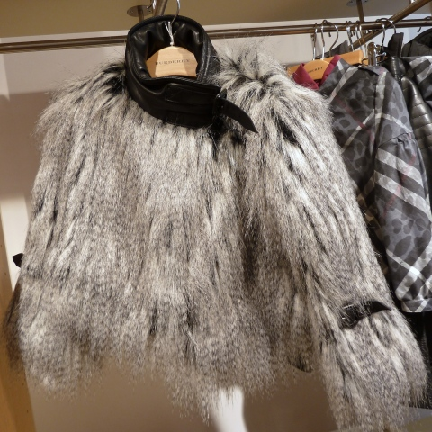 Shaggy enough for you? Burberry Monster Mash coat for kids winter 2011