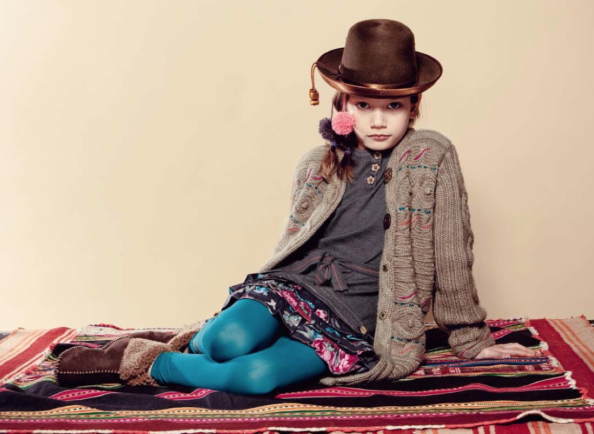 9c15347c62c A return to ethnic roots at Kenzo Kids for winter 2011
