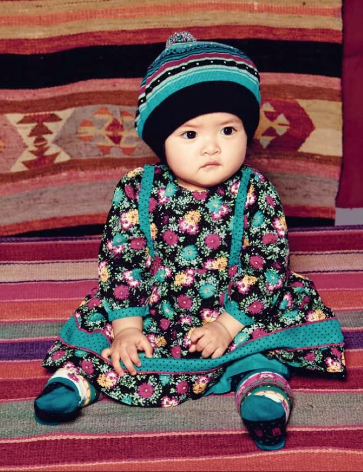 8e4b2c50a13 Kenzo Kids baby fashion goes ethnic too for winter 2011