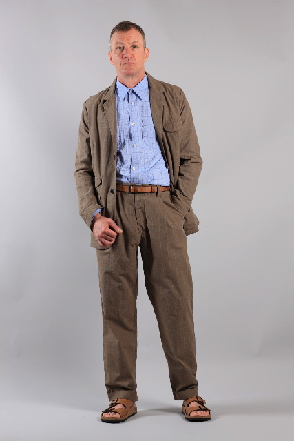 Relaxed tailoring from Universal Works summer 2011