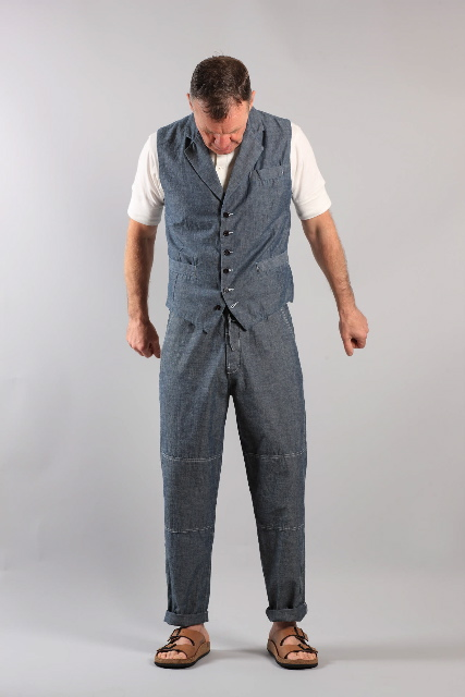 Soft tailored denims by Universal Works for summer 2011