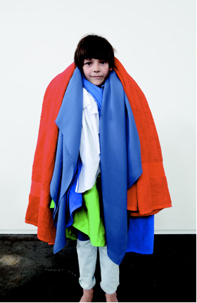 The layered look at Imps and Elfs summer 2011 childrenswear