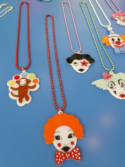 Brilliant jewellery for kids and mum from new exhibitor Anna Lou of London at Bubble London 2012
