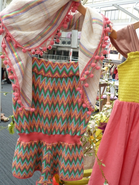 70's retro zigzag playsuit from I Love Gorgeous for summer 2012 at Bubble London