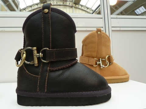 New buckled style early season boot from Love from Australia at Bubble London