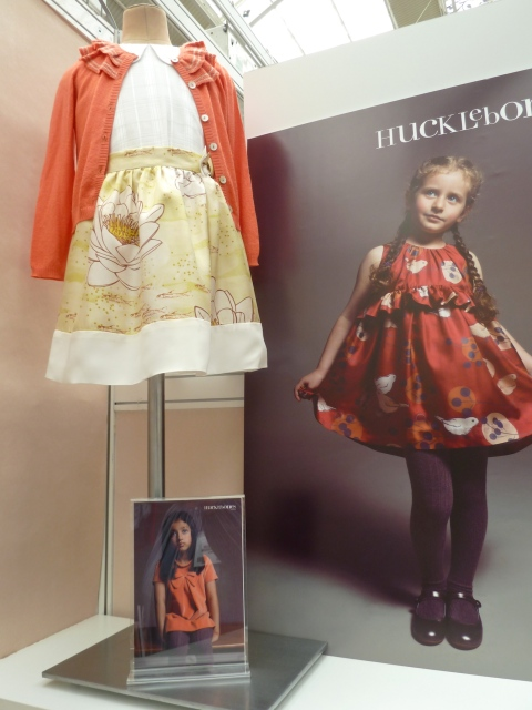 A softer take on strong colour at Hucklebones summer 2012 at Bubble London