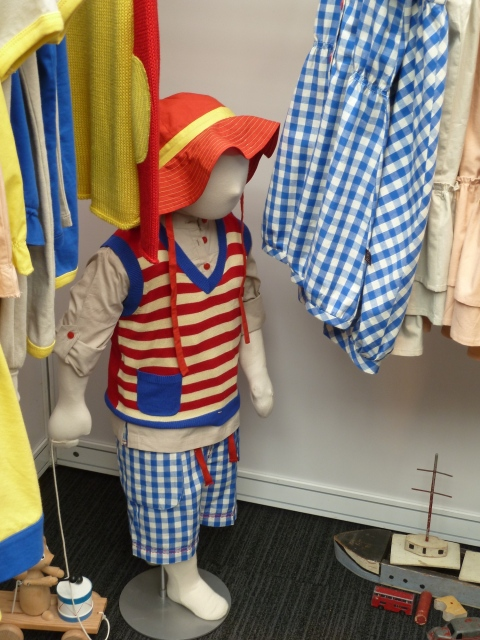 Strong stripes and checks for boys too at Little Ducklings for summer 2012 at Bubble London