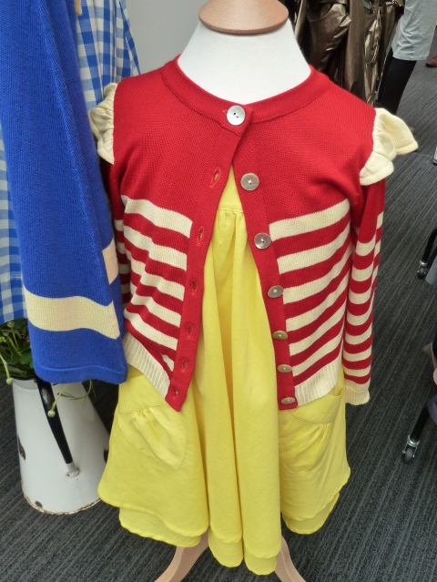 Bold primaries for Liittle Ducklings at Bubble London for summer 2012