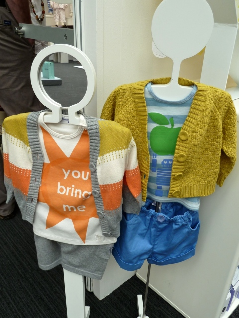 At Bonnie Baby there is a move away to brighter colour too for summer 2012 at Bubble London
