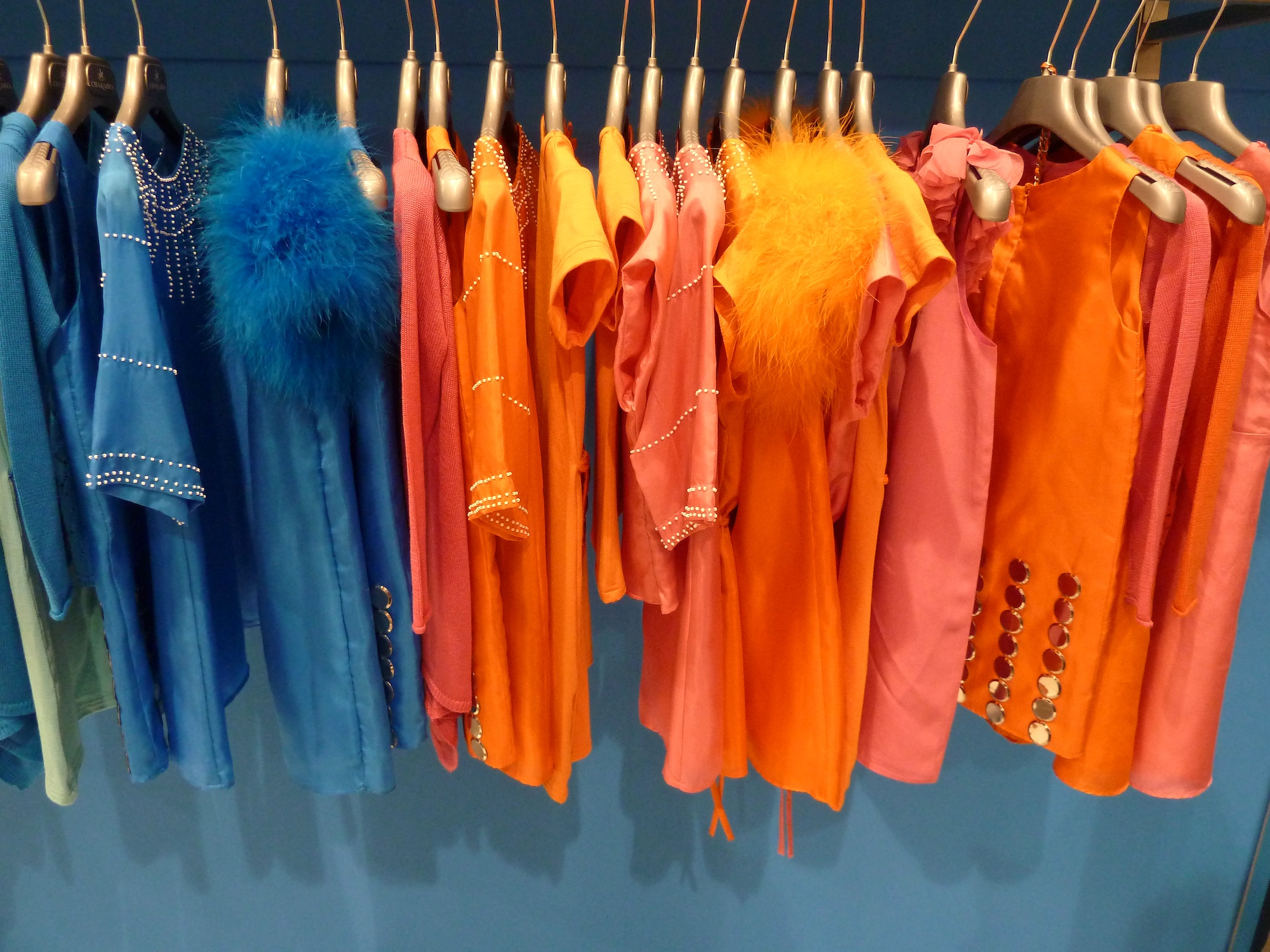 Intense colour from Charabia for kids fashion summer 2012 at Pitti Bimbo 73