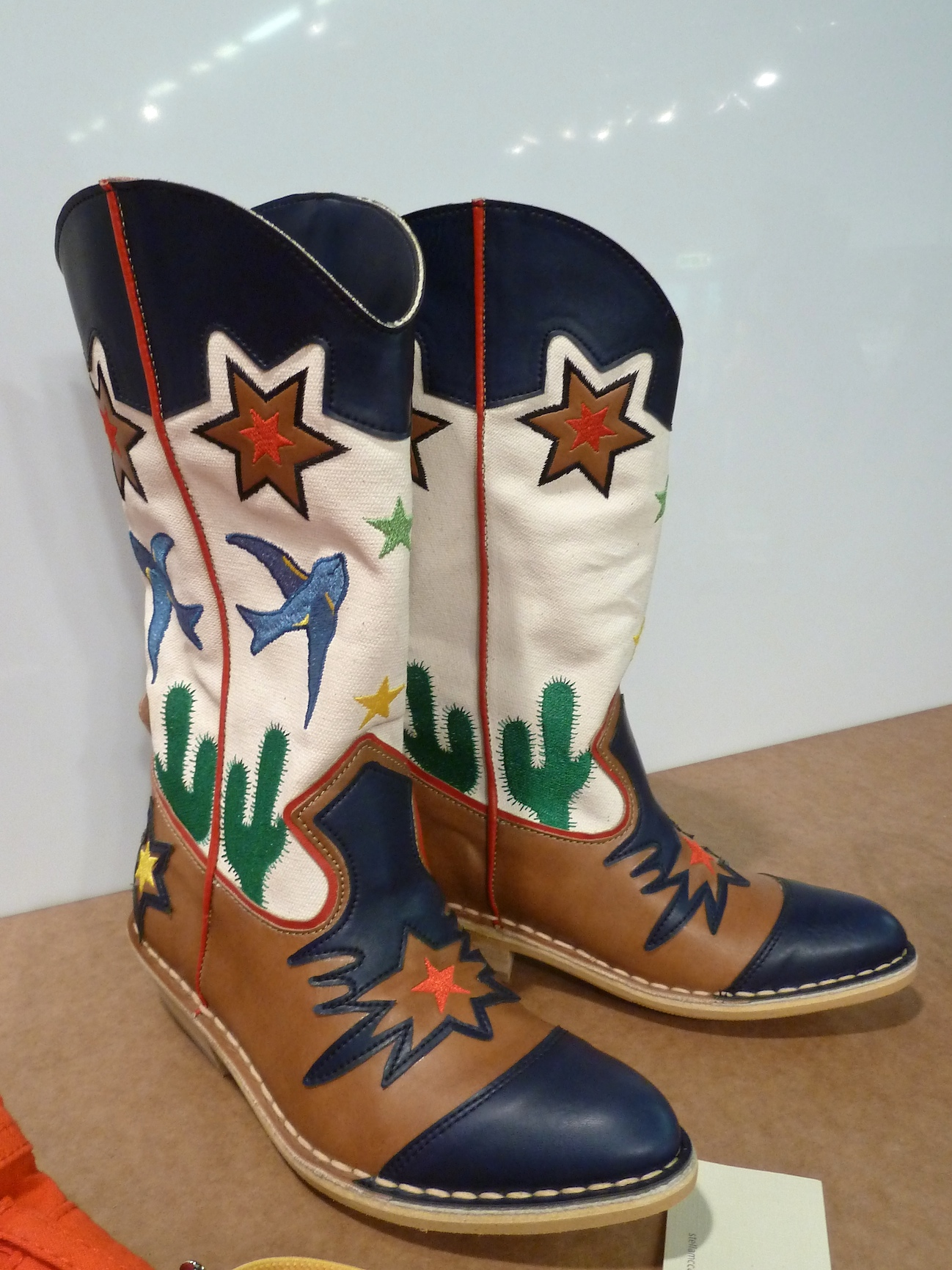 Cool, cool cowboy boots for kids from Stella McCartney at Pitti Bimbo 73