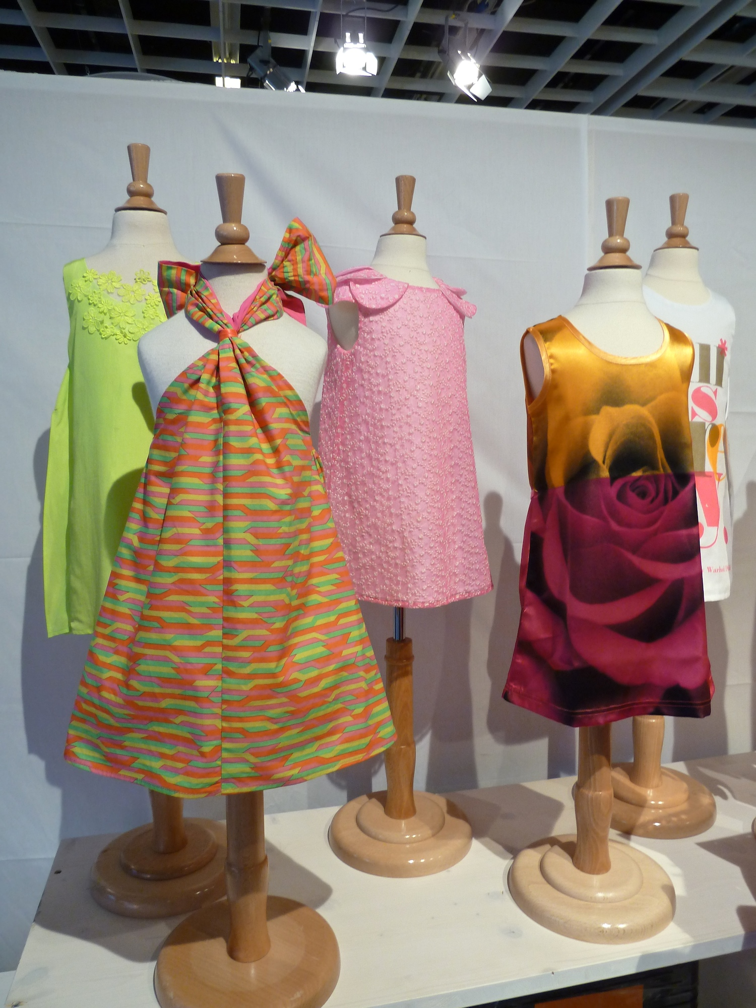 Wonderful zinging colour from the amazing Anne Kurris for kidswear summer 2012 at Pitti Bimbo
