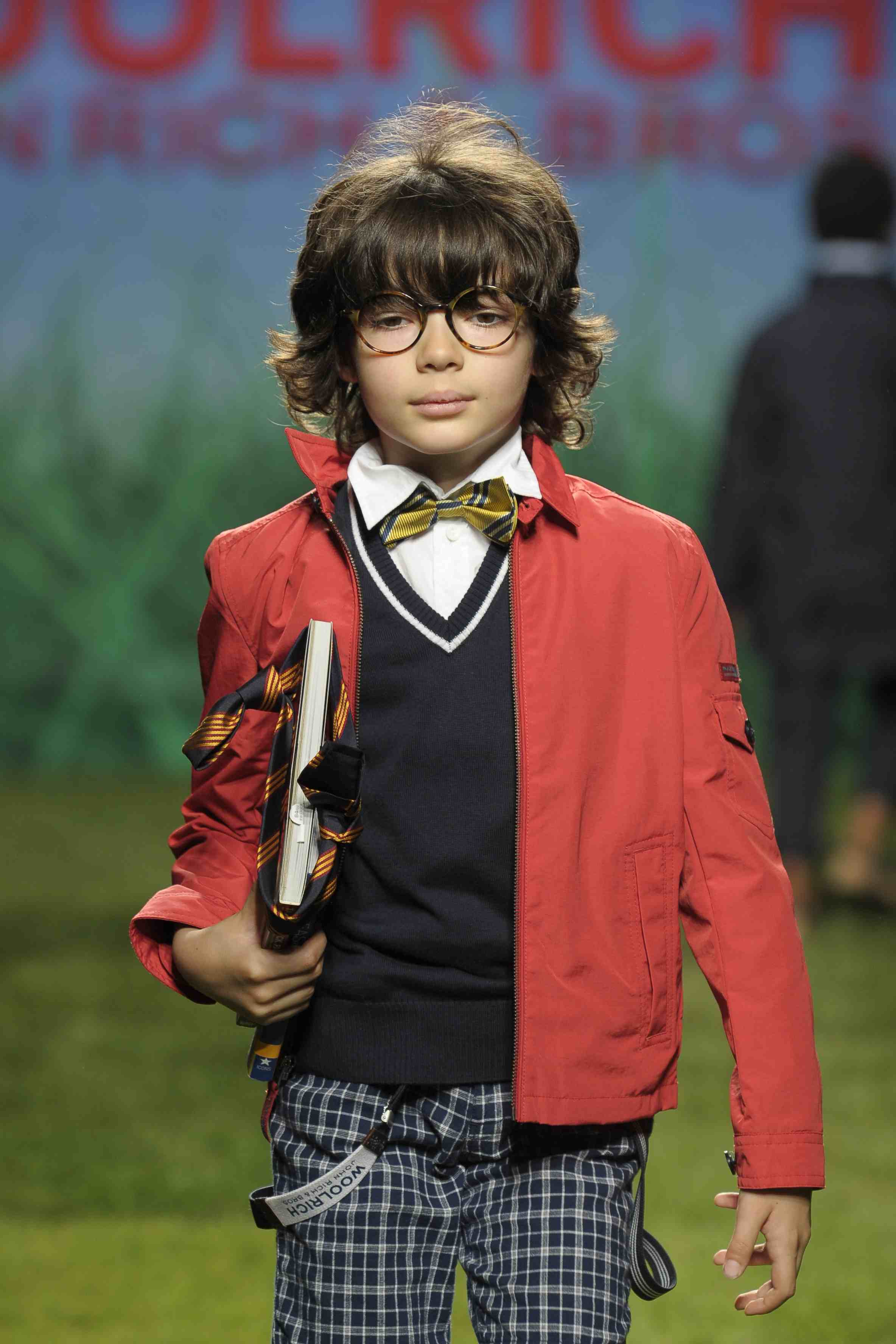 Geek chic at Woolrich Kids boyswear for summer 2012