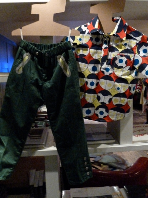 The boys retro primary print shirt from Kicokids for summer 2012
