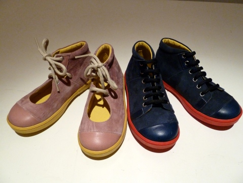 Some of the new kids footwear range from Kicokids for summer 2012