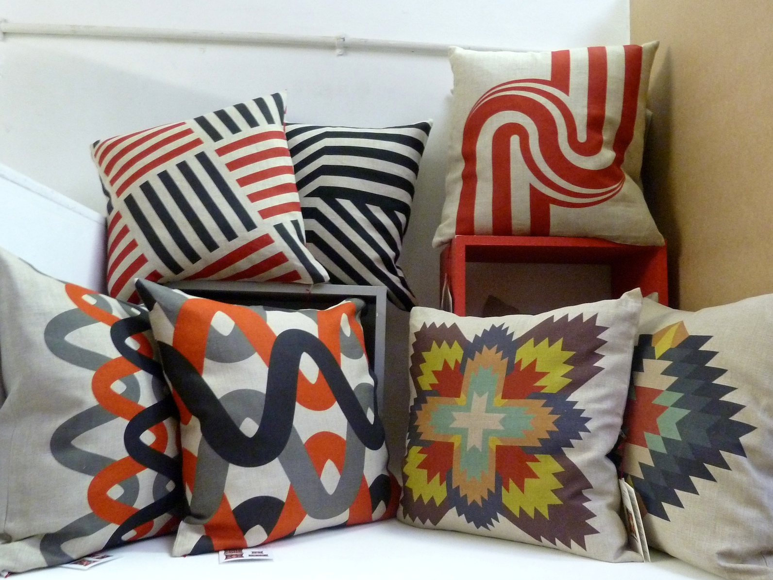 Cushion selection from Marianne Diemer at Theo online store