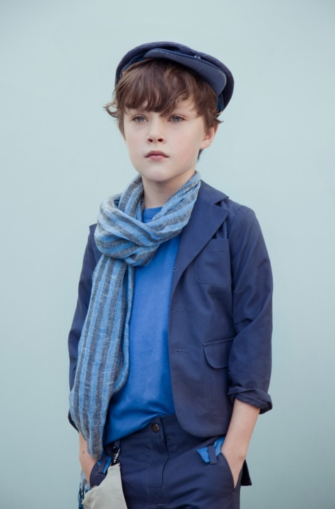 Kico Kids tone on tone blue look for boys for summer 2012