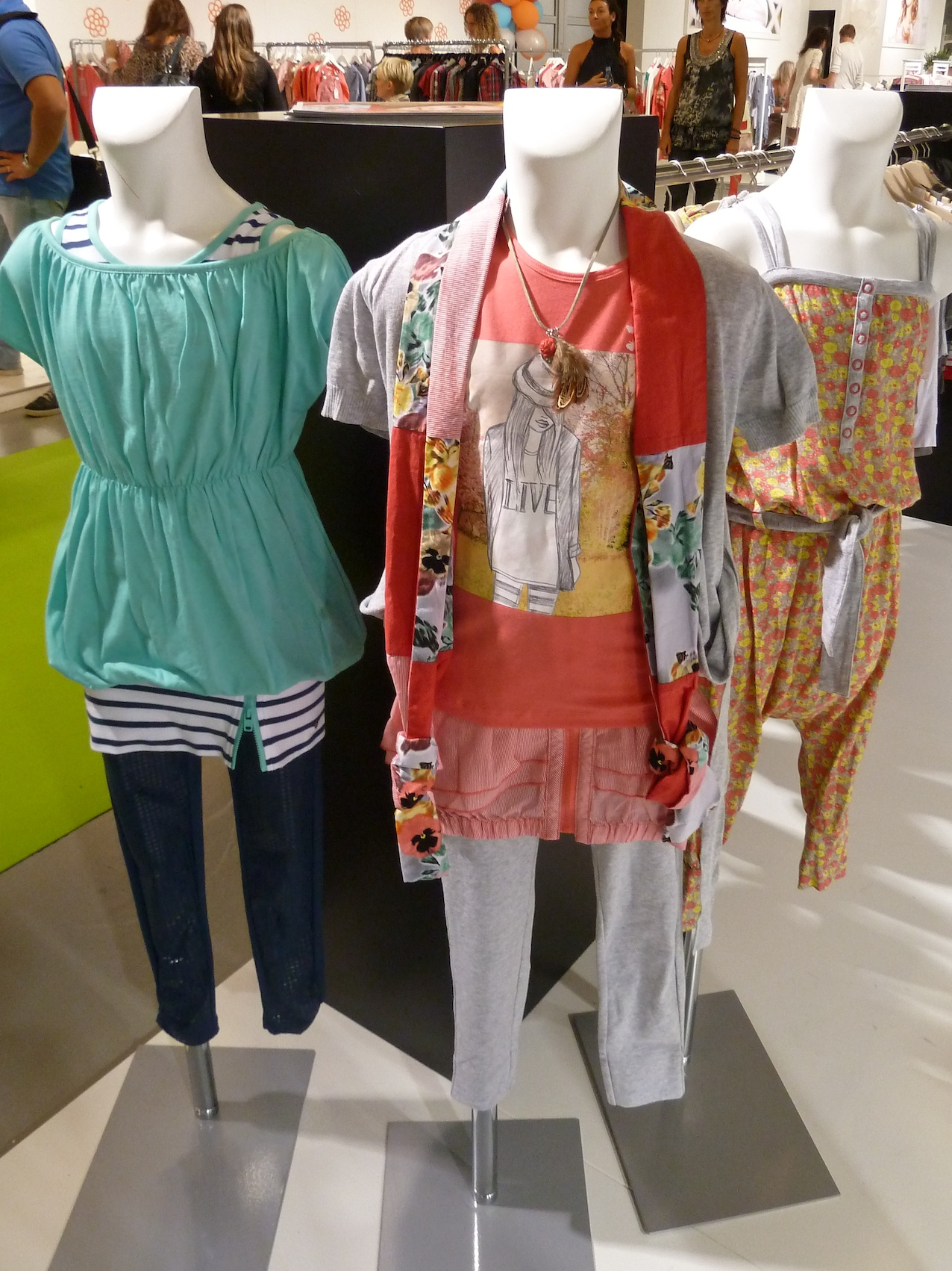 Layered cotton jersey teen styling from NoNo at Ciff Kids for summer 2012