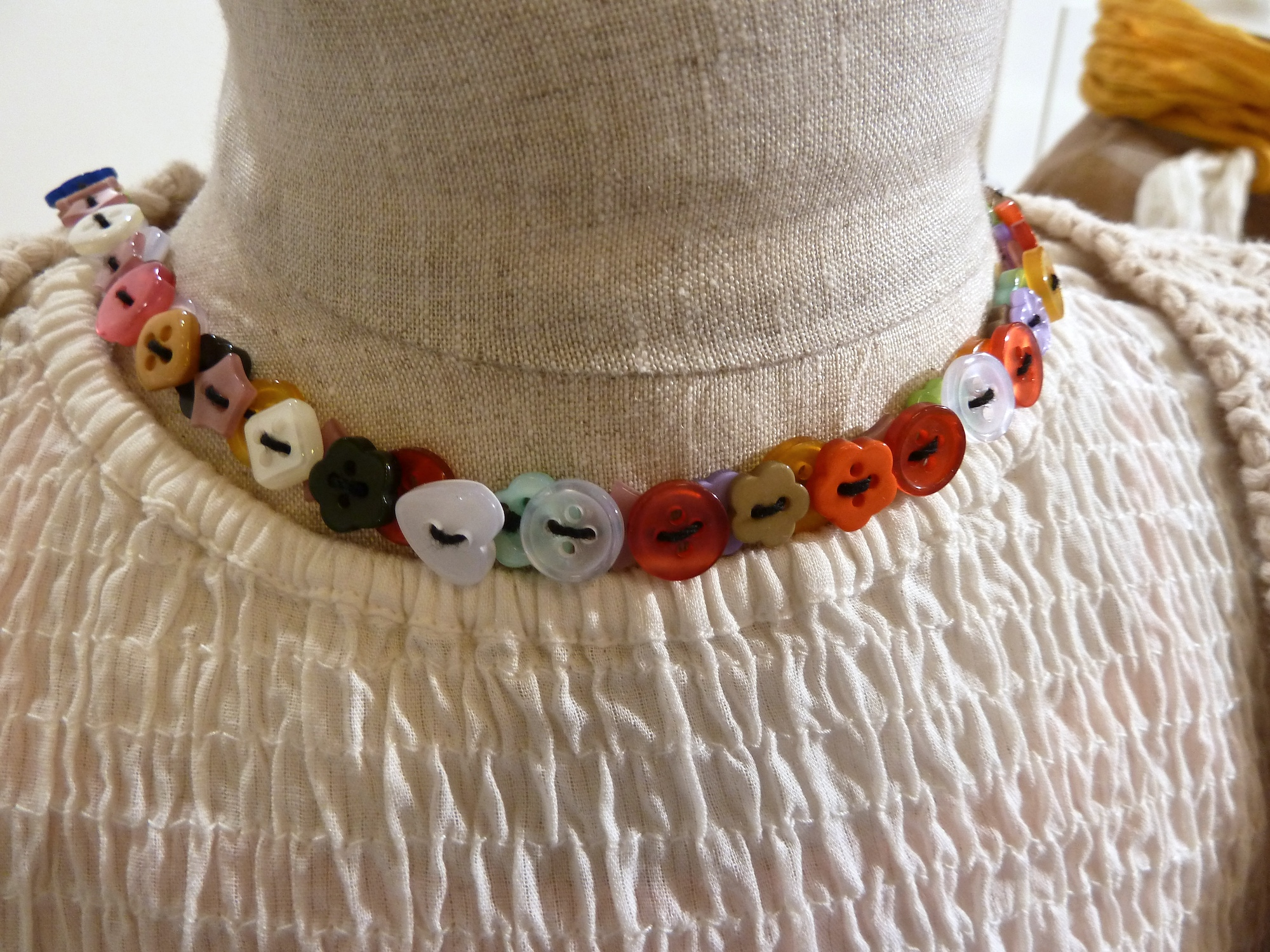 Sweet double button necklace from Noa Noa, its the little details that count again for summer 2012 kidswear at Ciff Kids